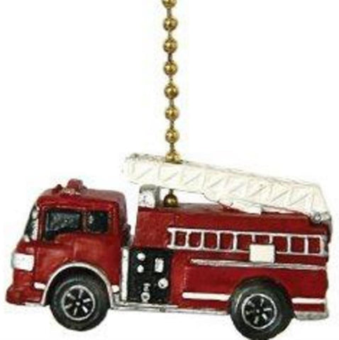 New Fire Truck Fan Pull