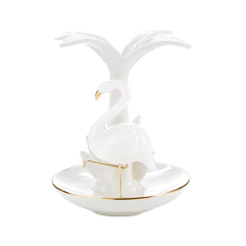Hallmark Signature Tropical Flamingo Ring Holder