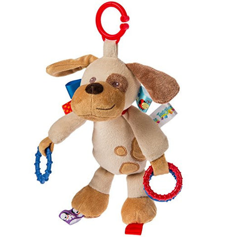Mary Meyer Taggies Buddy Dog Activity Toy