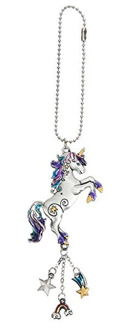 Ganz Car Charm Colorful Unicorn with Dangles
