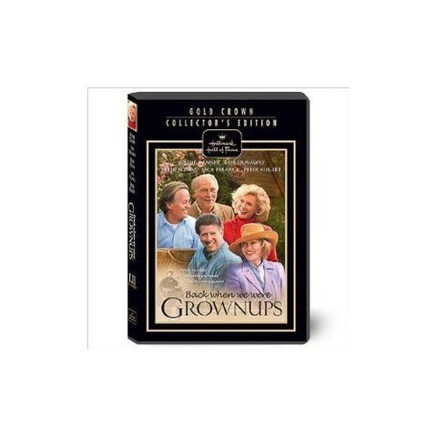 Hallmark Hall Of Fame Dvd Back When We Were Grownups