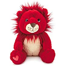 Hallmark You're My Mane Squeeze Red Lion Stuffed Animal