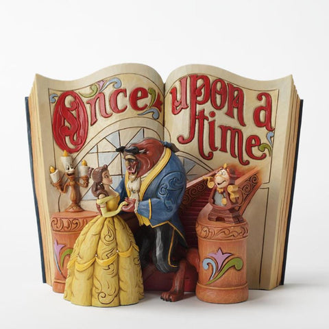 Love Endures Beauty And The Beast Storybook Figurine