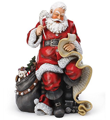 Napco 46105 Santa with List