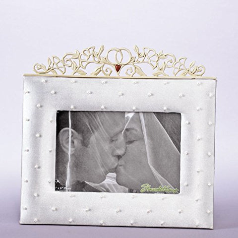 Enesco 4007615 Foundations 4 x 6 HORIZON PHOTO FRAME
