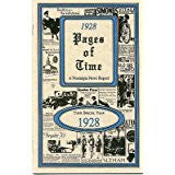 1928 PAGES OF TIME A Nostalogic Look Back in Time