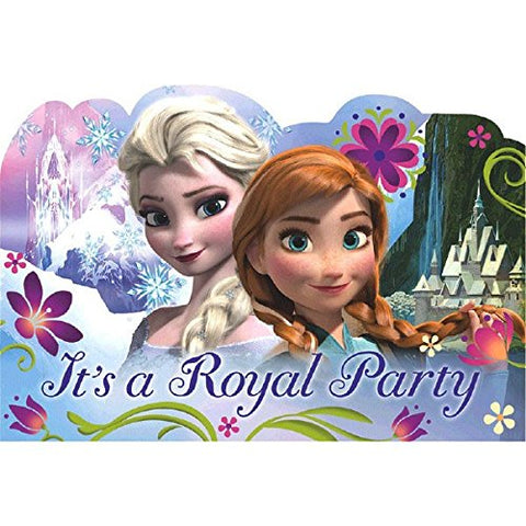 8-Count Disney Frozen Invitations