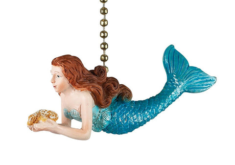 Clementine OCEAN MERMAID Fan Pull