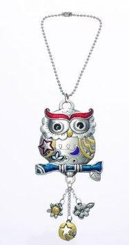 Owl Colored Car Charm