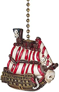 Clementine 335 Pirate Ship Ceiling Fan Pull