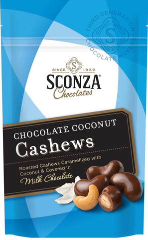 Sconza Chocolates Chocolate Coconut Cashews