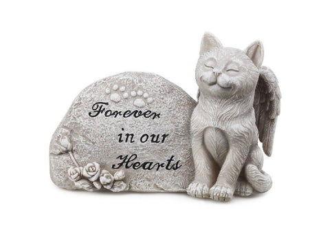 Napco Imports 11149 Small Cat Memorial Stone