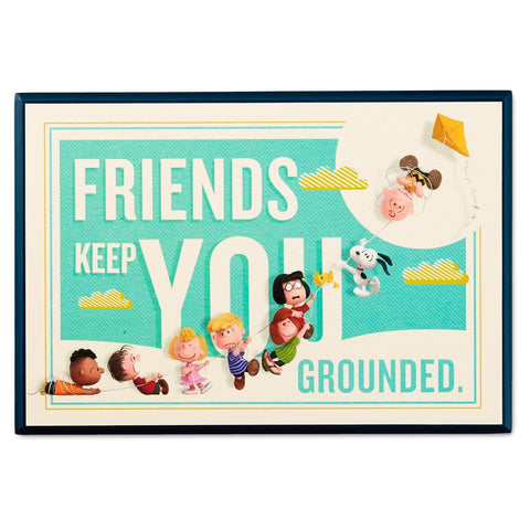 Friends Keep You Grounded Plaque