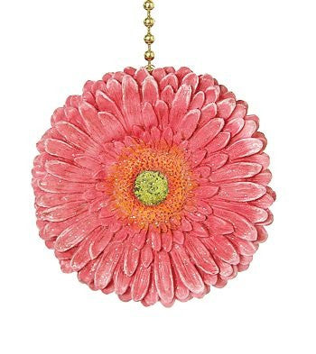 Clementine Design Gerber Pink Daisy Fan Pull