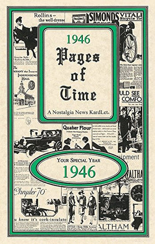 1949 Pages Of Time A Nostalogic Look Back in Time