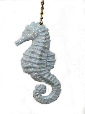 Clementine 309 Sparkling Seahorse Fan Pull