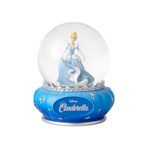 Enesco 4059196 Disney Showcase Cinderella Stone Resin and Glass Waterball, 5.5""