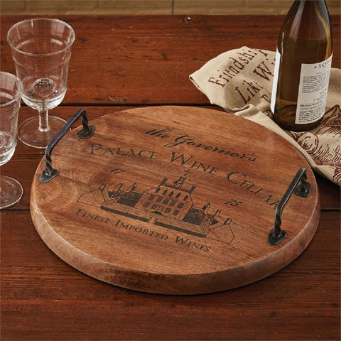 Park Designs Palace Wine Cellar Wood Tray
