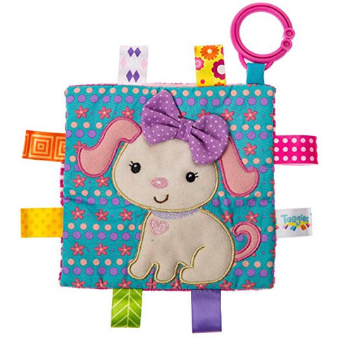 Mary Meyer Taggies Crinkle Me Baby Toy, Sister Puppy