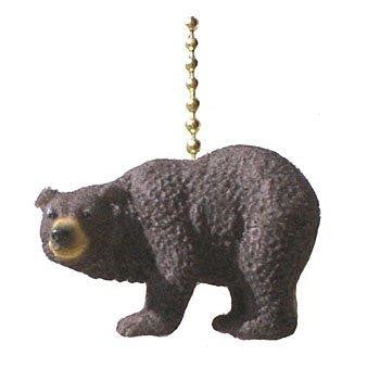 Clementine Design Black Bear Fan Pull