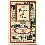 1933 PAGES OF TIME A Nostalogic Look Back in Time