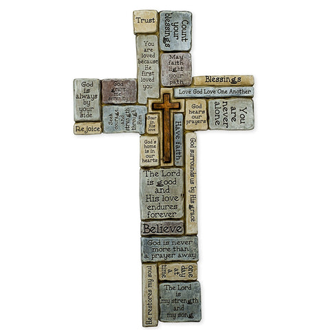 "Roman16""H CROSSWORD WALL CROSS"
