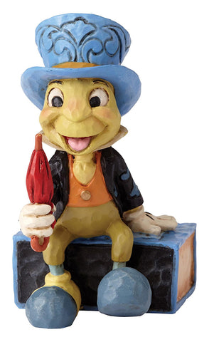 Enesco 4054286 Jim Shore Disney Traditions Mini Jiminy Cricket on Match Box