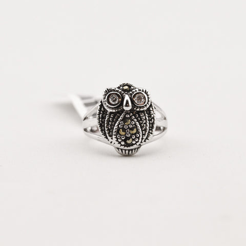 R. S. Covenant 1772 MARCASITE OWL SIZE 8