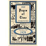 1929 PAGES OF TIME A Nostalogic Look Back in Time