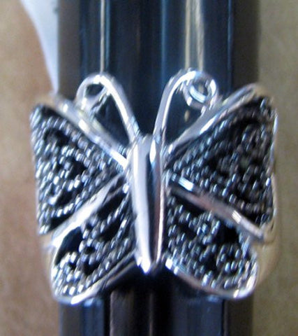 R. S. Covenant 1759 Women's Marcasite Butterfly Ring SZ 6