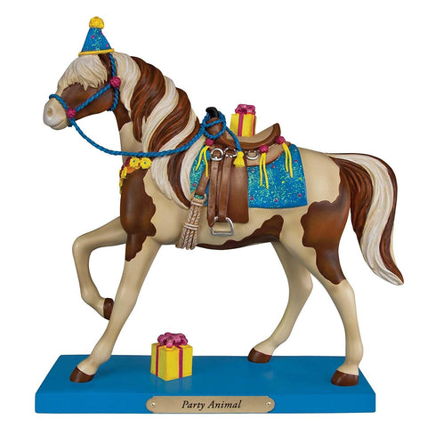 Enesco Gifts 4049717 Party Animal Horse Figurine