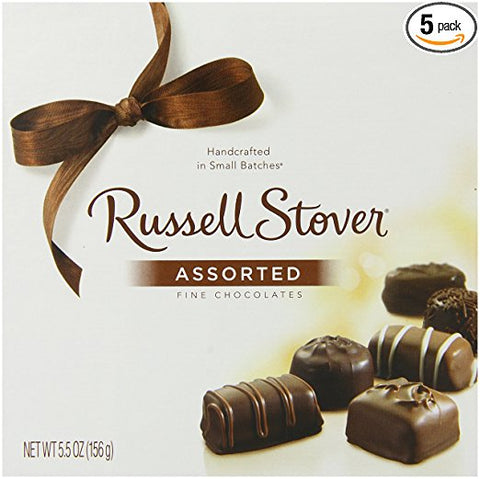 Russell Stover Assorted Fine Chocolate 5.5 Oz