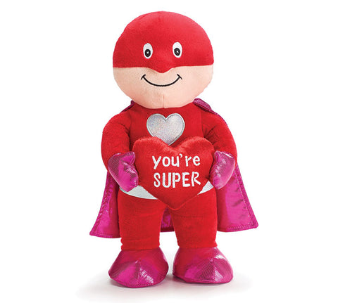 Burton & Burton Plush You're Super Superhero