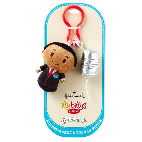 HALLMARK - KID PRESIDENT - ITTY BITTY CLIPPY