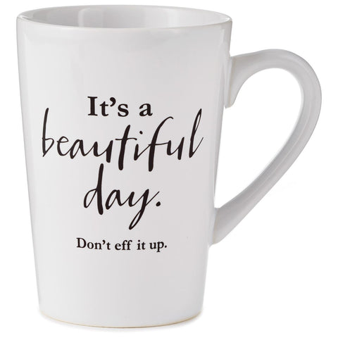 Hallmark Beautiful Day Mug, 15 oz.