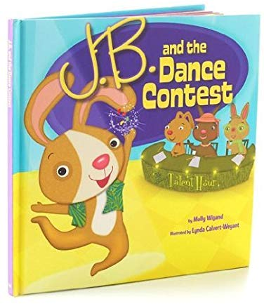Hallmark Easter EWM3079 J.B. and The Dance Contest Book