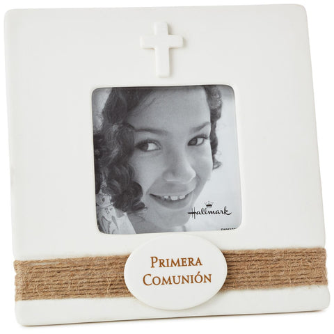 Hallmark First Holy Communion Spanish Picture Frame, 3x3