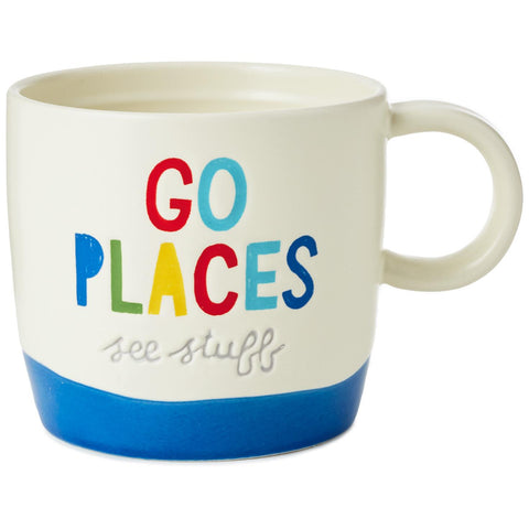 Hallmark Go Places See Stuff Mug, 12 oz.
