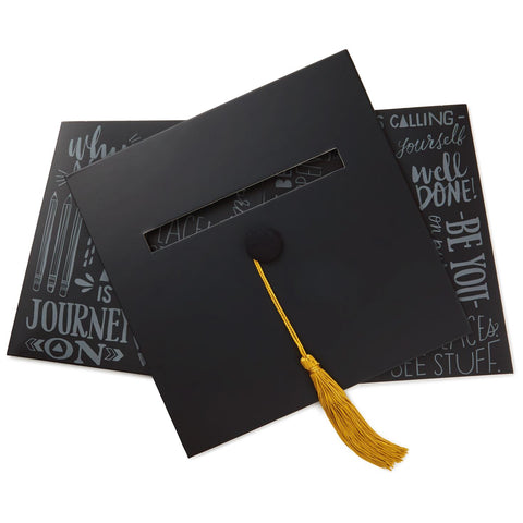 Hallmark Graduation Cap Card Box