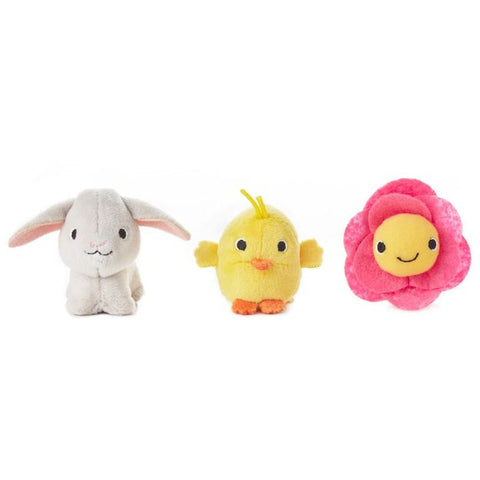 Happy Go Luckys - Springtime Mini Stuffed Animals (Set of 3)