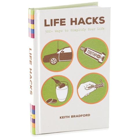 Hallmark Life Hacks 500+ Ways to Simplify Your Life Book