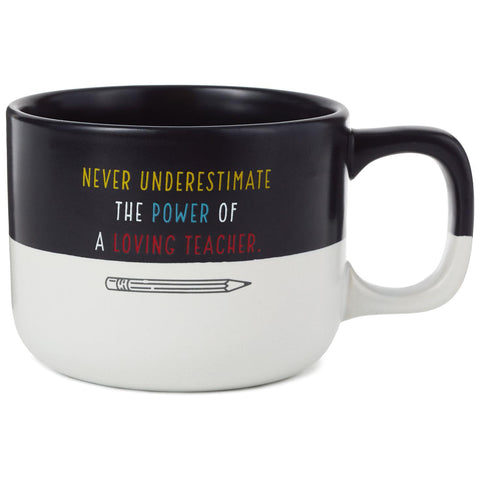 Hallmark Power of a Loving Teacher Mug, 13 oz.