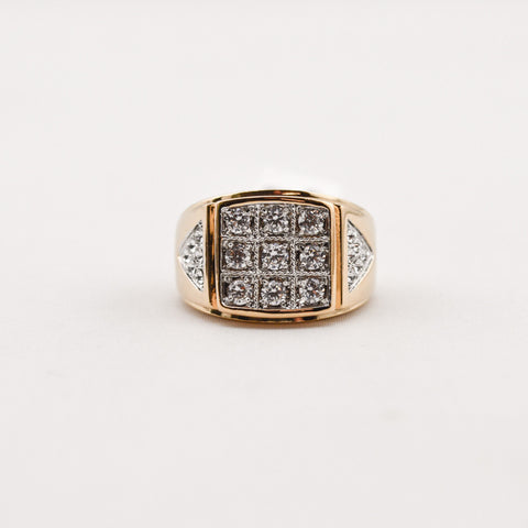 Aust. Crys. Cubic Zirconia Ring