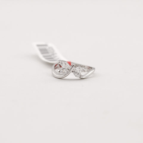Cubic Zirconia Butterfly Ring