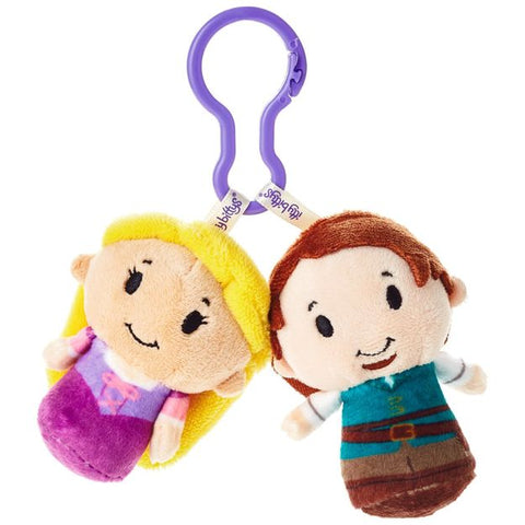 Hallmark Tangled Rapunzel and Flynn Rider itty bittys® Clippys Stuffed Animals