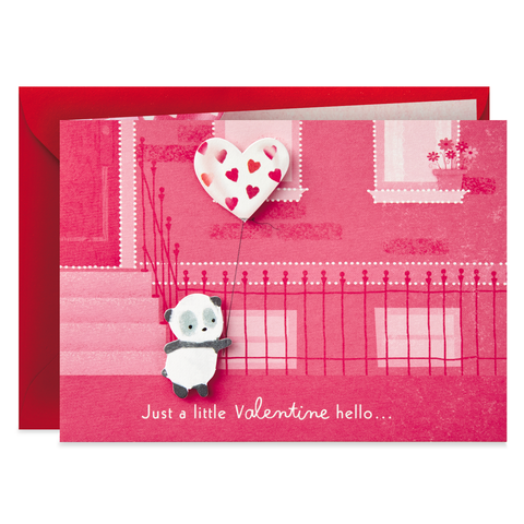 Hallmark Paper Wonder You're Nice Panda Mini Pop Up Valentine's Day Card