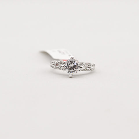 R.S. Covenant Sterling Silver Cz / Cz Size 9