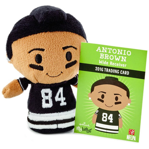 Hallmark itty bittys NFL Player Antonio Brown Stuffed Animal Special Edition