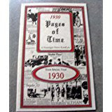 1930 PAGES OF TIME A Nostalogic Look Back in Time