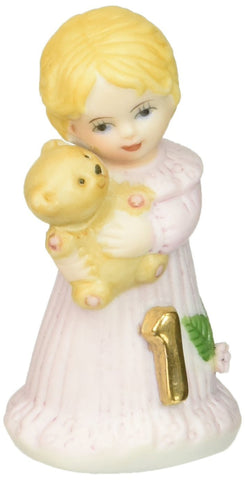 Growing up Girls from Enesco Blonde Age 1 Figurine 2.5 IN